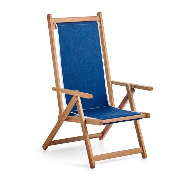 Monte Deck Chair - Jeans