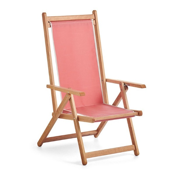 Monte Deck Chair - Coral