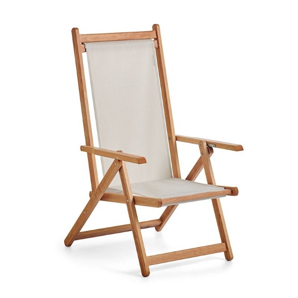 Monte Deck Chair - Raw